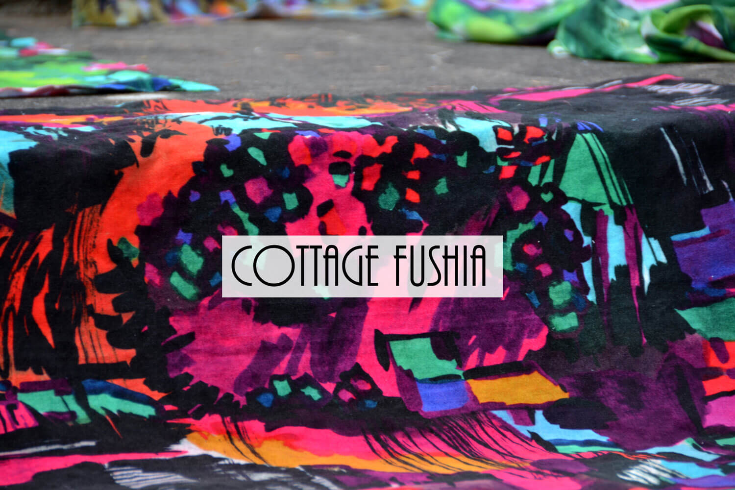 Cottage fushia Paris fashion